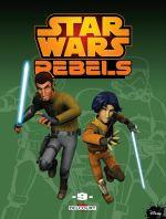Star Wars Rebels T9, comics chez Delcourt de Fisher, Barlow, Molesworth, Romling, Widermann