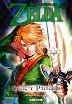 The legend of Zelda - Twilight princess T5, manga chez Soleil de Himekawa