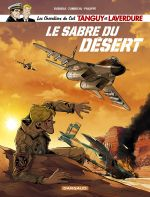 Tanguy et Laverdure T7 : Le sabre du désert (0), bd chez Dargaud de Buendia, Zumbiehl, Philippe, Gourdin, Caniaux