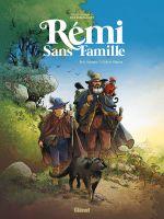 Rémi sans famille, bd chez Glénat de Stalner, Simon, Fantini