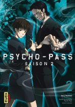 Psycho-pass Saison 2 T2, manga chez Kana de Hashino