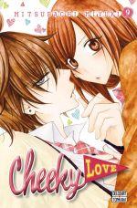 Cheeky love T9, manga chez Delcourt Tonkam de Mitsubachi