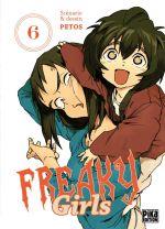 Freaky girls T6, manga chez Pika de Petos