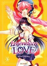Legendary love T3, manga chez Soleil de Sakano