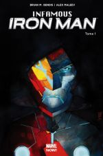 Infamous Iron Man T1 : Rédemption (0), comics chez Panini Comics de Bendis, Maleev, Hollingsworth