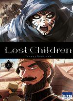 Lost children T3, manga chez Ki-oon de Sumiyama