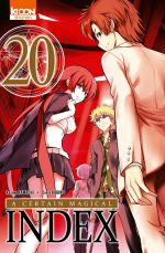 A certain magical index T20, manga chez Ki-oon de Kamachi, Kogino