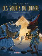 Les Souris du Louvre T1 : Milo et le monde caché (0), bd chez Delcourt de Chamblain, Goalec, Drac