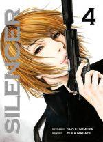 Silencer T4, manga chez Komikku éditions de Buronson, Nagate