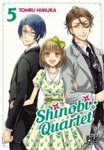 Shinobi quartet T5, manga chez Pika de Himuka