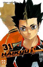 Haikyû, les as du volley T31, manga chez Kazé manga de Furudate