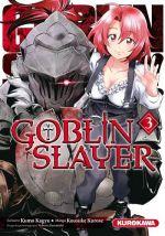 Goblin slayer T3, manga chez Kurokawa de Kagyu, Kurose