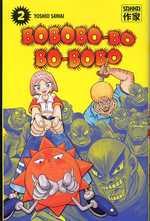 Bobobo-bo Bo-bobo T2, manga chez Casterman de Sawai
