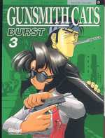 Gunsmith Cats Burst T3, manga chez Glénat de Sonoda