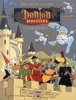 Donjon Monsters T11 : Le grand animateur (0), bd chez Delcourt de Sfar, Trondheim, Stanislas, Thomas