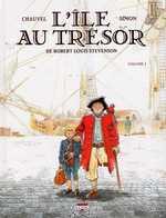 L'île au trésor T1, bd chez Delcourt de Chauvel, Simon, Simon