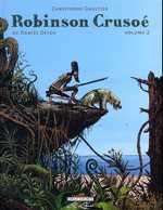 Robinson Crusoë T2, bd chez Delcourt de Gaultier
