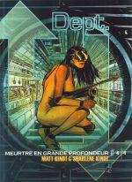 Dept H. T4, comics chez Futuropolis de Kindt, Kindt