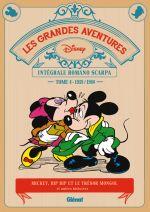Grandes aventures de Romano Scarpa T4 : Mickey, Bip Bip et le trésor Mongol et autres histoires (0), bd chez Glénat de Scarpa