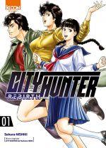City Hunter rebirth T1, manga chez Ki-oon de Nishiki, Hôjô