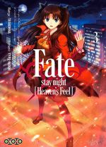 Fate stay night [Heaven's feel] T3, manga chez Ototo de Type-moon, Taskohna