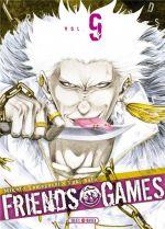 Friends games  T9, manga chez Soleil de Yamaguchi, Yûki
