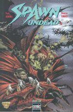 Spawn Undead T1, comics chez Semic de Jenkins, Turner, Hutchinson, Fotos, Wolf, Broeker