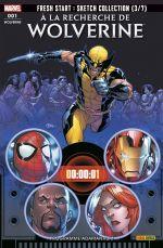 A la recherche de Wolverine T1 : Programme adamantium (0), comics chez Panini Comics de Soule, Marquez, Siquiera, Wong, Rosenberg, Redmond, McNiven