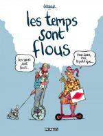 Les Temps sont flous, bd chez Delcourt de Terreur Graphique