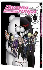 Danganronpa T1, manga chez Mana Books de Chunsoft, Takashi