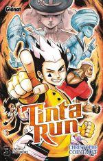 Tinta run T3, manga chez Glénat de Cointault