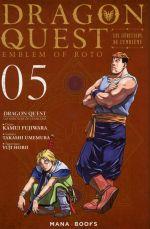 Dragon quest - Les héritiers de l'emblème T5, manga chez Mana Books de Eishima, Fujiwara