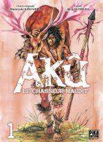 Akû, le chasseur maudit T1, manga chez Pika de Kaneshiro, Akeji