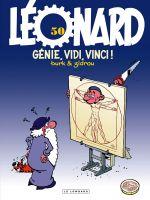 Léonard T50 : Génie, vidi, vici ! (0), bd chez Le Lombard de Zidrou, Turk, Kael
