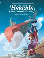 Hercule, agent intergalactique T1 : Margot, la fille du frigo (0), bd chez Le Lombard de Zabus, Dalena, Giumento