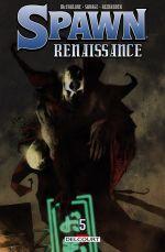 Spawn Renaissance T5, comics chez Delcourt de Savage, Alexander, McFarlane