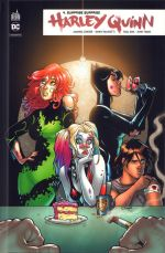 Harley Quinn Rebirth T4 : Surprise surprise (0), comics chez Urban Comics de Palmiotti, Conner, Zdarsky, Dini, Kibblesmith, Lafuente, Hardin, Blevins, Quiñones, Linsner, Timms, Skipper, Sinclair, Mounts, Rauch