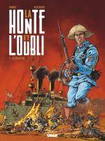 La Honte et l'oubli T1 : Le Désastre (0), bd chez Glénat de Harriet, Andres, Aguirre