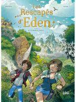 Les Rescapés d'Eden T1 : Au commencement (0), bd chez Soleil de Swysen, Siteb, Poupelin
