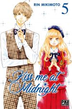 Kiss me at midnight T5, manga chez Pika de Mikimoto