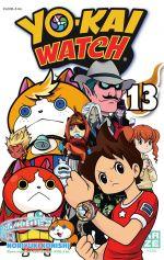 Yo-kai watch  T13, manga chez Kazé manga de Level-5, Konishi