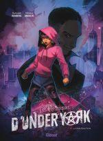 Les Chroniques d'Under York T1 : La malédiction (0), bd chez Glénat de Runberg, Andolfo, Hamilton