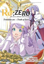 Re:Zero – 3e arc Truth of zero, T4, manga chez Ototo de Nagatsuki, Matsuse