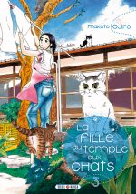 La fille du temple aux chats T3, manga chez Soleil de Ojiro