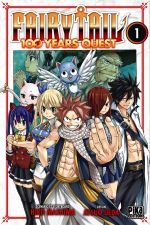 Fairy tail 100 years quest T1, manga chez Pika de Mashima, Ueda