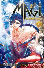Magi, the labyrinth of magic  T31, manga chez Kurokawa de Ohtaka