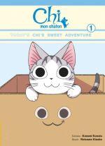 Chi mon chaton T1, manga chez Glénat de Konami, Kinoko