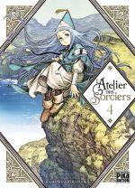 L'atelier des sorciers T4, manga chez Pika de Shirahama