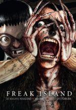 Freak island  T7, manga chez Delcourt Tonkam de Hokazono