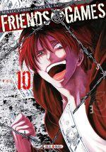 Friends games  T10, manga chez Soleil de Yamaguchi, Yûki